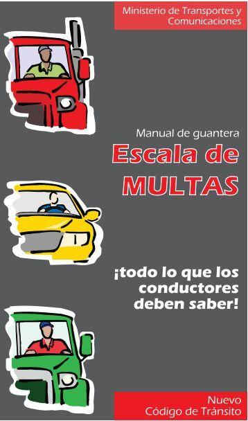 Manual de guantera - Ministerio de Transportes y Comunicaciones