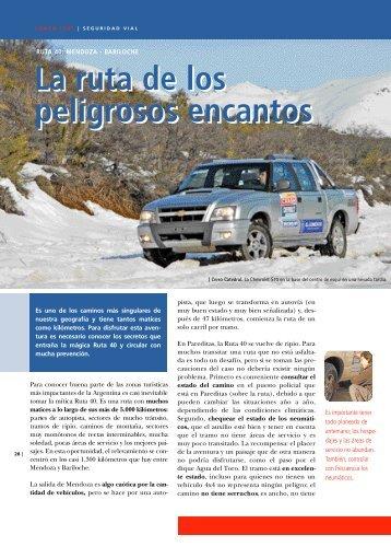 Ruta 40: desde Mendoza hasta Bariloche - CESVI Argentina