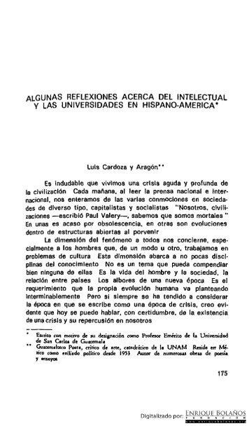 Libro - Pensamiento universitario Centroamericano - Parte 2 de 3