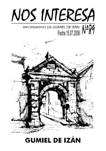 Cantar - Ayuntamiento de Gumiel de Izán