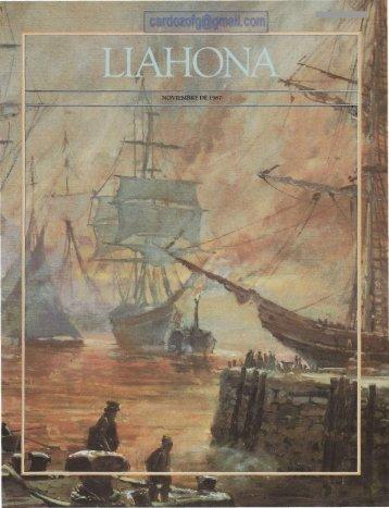 LIAHONA NOVIEMBRE 1987.pdf - Cumorah.org