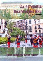 Revista Coronelía Guardas del Rey nº 10 - Ejército de tierra