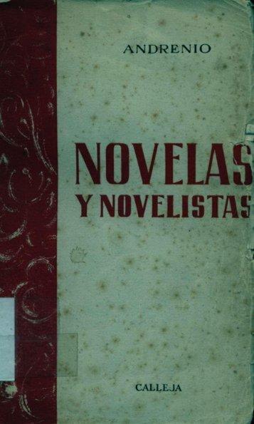 Novelas y novelistas.pdf