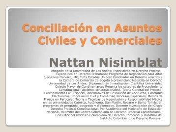 Conciliación Civil y Comercial - Nisimblat Abogados