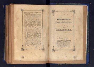 Composiciones castellanas y latinas con las cuales de ... - cdigital