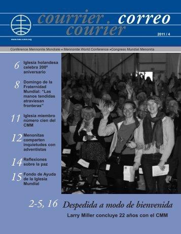 Despedida a modo de bienvenida - Mennonite World Conference