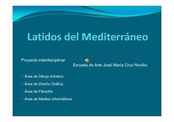 Proyecto interdisciplinar Proyecto interdisciplinar. Escuela de Arte ...