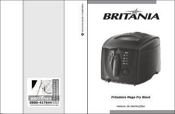 543 05 00 Rev0 Folheto de Instruções Fritadeira Mega Fry ... - Britânia