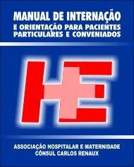 Manual Internação site.cdr - Maternidade e Hospital Evangélico de ...