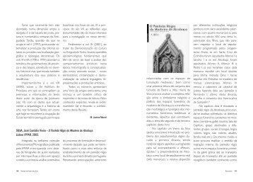 SILVA, José Custódio Vieira - Instituto de História da Arte
