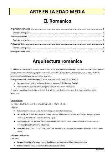 Arte Románico - Gobierno de Canarias