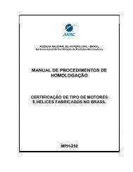 MANUAL DE PROCEDIMENTOS DE HOMOLOGAÇÃO - Anac