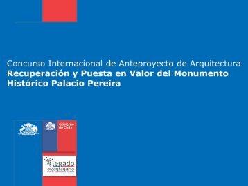 Segundo Premio - Concurso Palacio Pereira