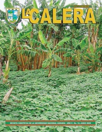 LA CALERA - Universidad Nacional Agraria