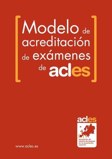 ACLES 11/12 - Acreditación en Idiomas
