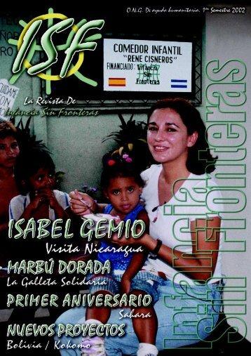 Pulsa aquí para visualizar la revista. - Infancia sin Fronteras