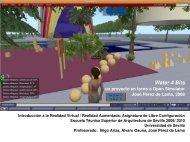 W4B un proyecto con Open Simulator de hackitectura.net (pdf/ 5.8 MB)