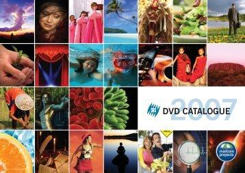 DVD CATALOGUE - Marcom Projects