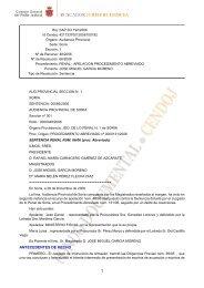ANTECEDENTES DE HECHO - Consejo General del Poder Judicial