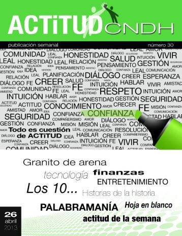 Revista Actitud No. 30
