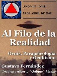AÑO VIII Nº 181 - Archivos Forteanos Latinoamericano.