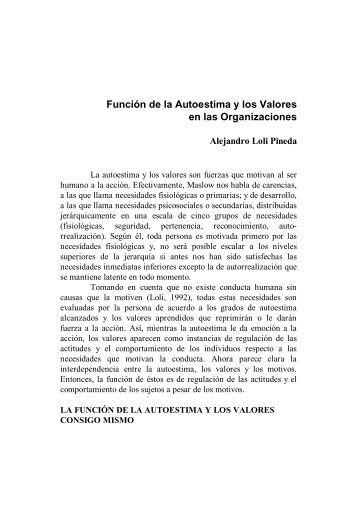 Función de la Autoestima y los Valores.pdf - Sasia