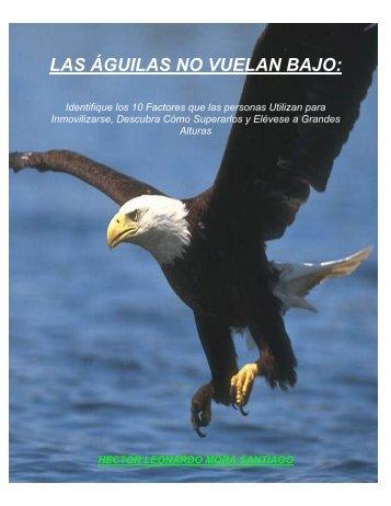 Las Águilas no Vuelan Bajo (pdf) - Ceroestres.com