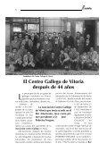+ Descargar revista nº 1 (PDF) - Centro Gallego de Vitoria - Page 7