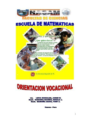 manual de orientacion vocaciona - bienvenidos a mi pagina personal
