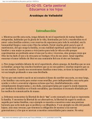 Educamos a los hijos. + Braulio Rodríguez ... - Iglesia Domestica