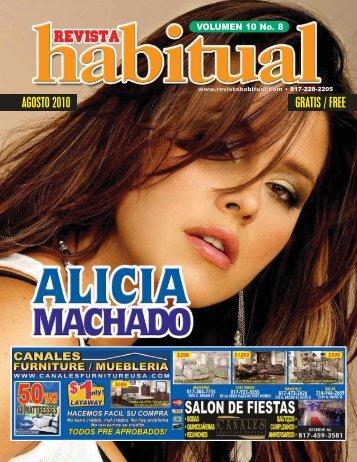 Agosto 2010 - Revista Habitual