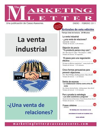 La venta industrial - Casso Asesores