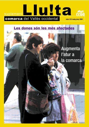 Augmenta l'atur a la comarca - CCOO de Catalunya