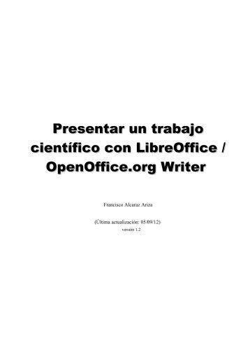 Manual de OpenOffice Writer. Capítulo 4. Aplicando estilos