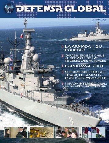 la armada y su poderío exponaval 2008 - Revista Defensa Global
