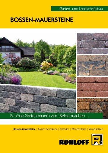 Bossen-Mauersteine - Betonsteinwerk Rohloff GmbH