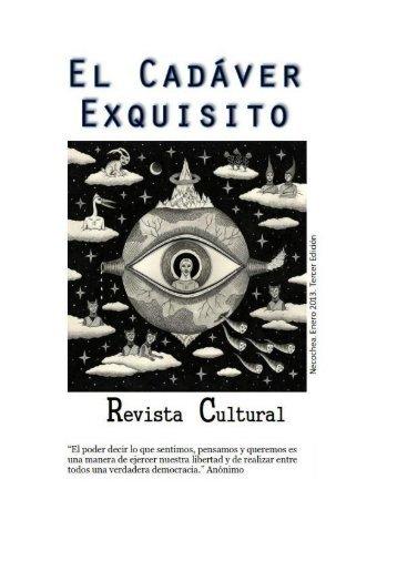 El Cadáver Exquisito - 3º Edición - ENERO 2013