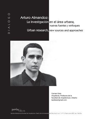 Arturo Almandoz: - Facultad de Arquitectura y Diseño - Universidad ...