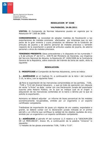 Resolución Exenta N° 3348 - 24.06.2011 (archivo descargable PDF ...