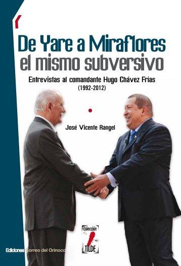 De Yare a Miraflores - Ministerio del Poder Popular para la Educación