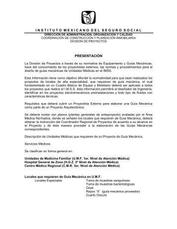 INSTITUTO MEXICANO DEL SEGURO SOCIAL - IMSS