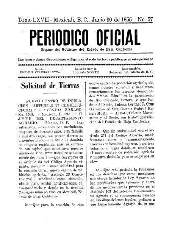 ~ PERIUDIBÜ OFICIAL - Gobierno del Estado de Baja California