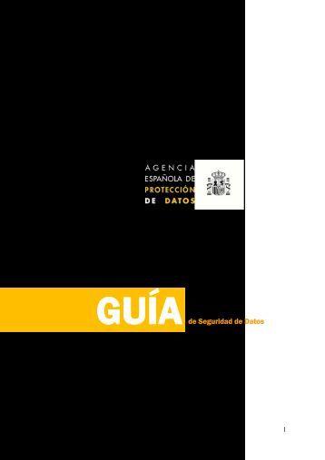 Descargue la guía modelo del Documento de Seguridad - Agencia ...