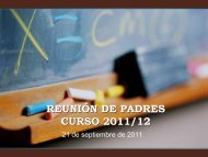 1º ESO - Colegio San Juan Bautista