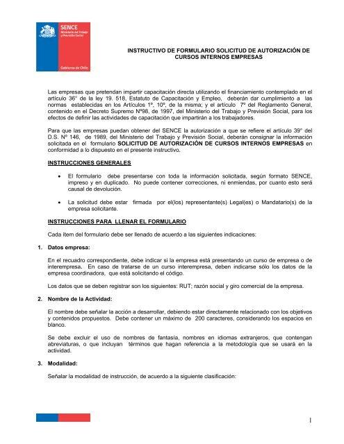 Instructivo Solicitud Autorizacion Cursos Internos Empresas