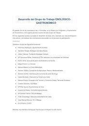 GASTRONÓMICO - Turismo Nuevas Ideas