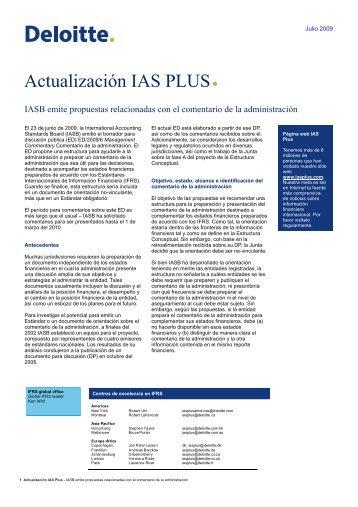 Actualización IAS PLUS