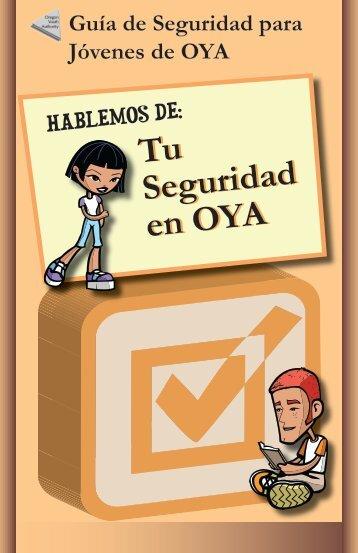 Guia de Seguridad para Jovenes de OYA