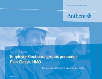 employeeelect para grupos pequeños plan classic hmo - SuperAgent