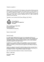 Estímado/ a compañero/a - Colexio Oficial de Arquitectos de Galicia
